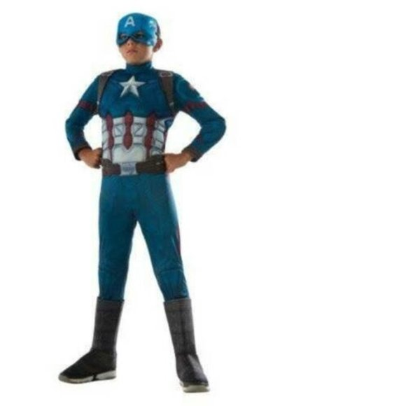 Rubie's Other - Marvel Avengers Captain America Muscle Costume- L
